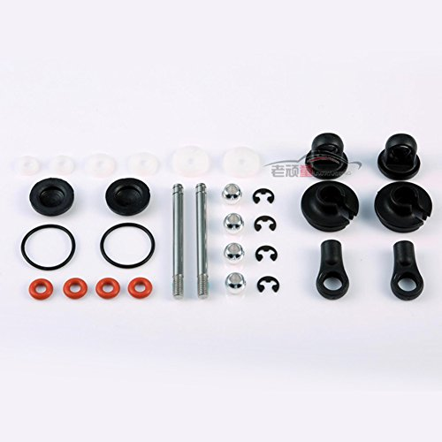 Junsi 1/14 Scale Front Shock Shaft Set for LC Racing EMB-1/SC/WRC/MT/DT/TG Truck Buggy
