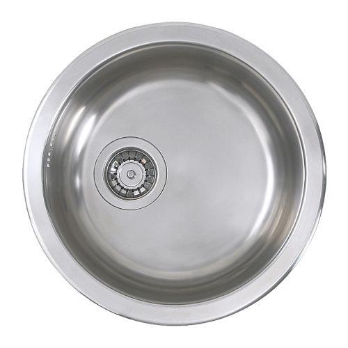 IKEA BOHOLMEN - Single-bowl inset sink, stainless steel - 45 cm by Ikea