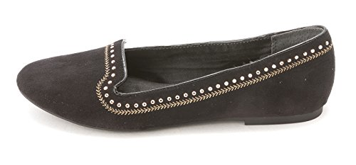 Stijl & Co. Dames Farra Loafers Blk / Goud