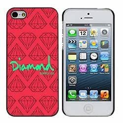 Diamond Supply Co 7 Pink and Lime iphone 4/4s Case