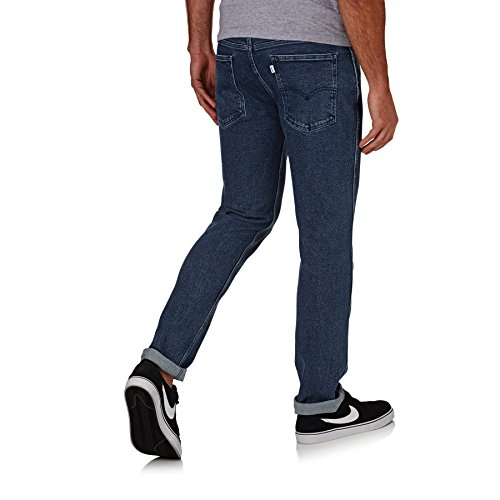 Línea Hombre auténticos Jeans rectas OT azules delgado Levi's Azul Stretch Botany 8 qAd5wqO