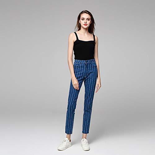 Cintura Skinny Up Slim Jean De Mujer Elasticos Vaqueros Pitillos Push Blue Jeans6016 Tejanos Alta Pantalones Stretch q0HEz