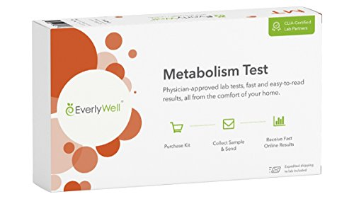 EverlyWell – At Home Metabolism Test – Evaluate Hormones That May Affect Weight + Energy (Not available in MD,NY, NJ, RI)