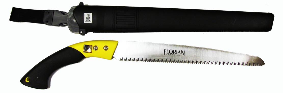 Florian Tools Fixed Blade Pruning Saw with 12 Inch Blade