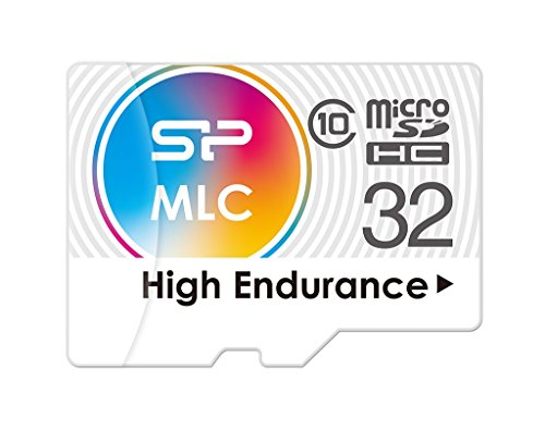 32GB Silicon Power High-Endurance microSDHC CL10 MLC Memory Card by Silicon Power