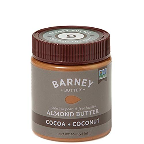 Almond Coconut Butter - Barney Butter Almond Butter, Cocoa + Coconut, 10 Ounce