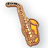 Saxophone Lapel Pin -Pack of 12