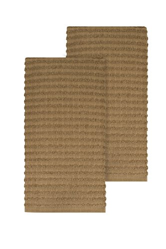 Towels Dish 2 Kitchen (Ritz Royale Collection 100% Combed Terry Cotton, Highly Absorbent, Oversized, Kitchen Towel Set, 28