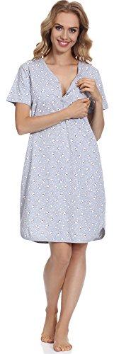 notte per Donna Modello Camicia Cornette CR6172016 da 03 HtwxEtq6I