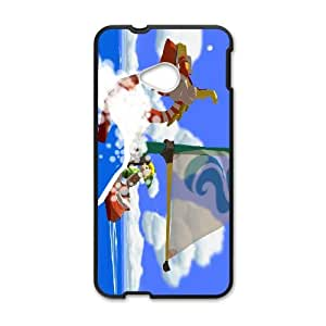 HTC One M7 Cell Phone Case Black The Legend of Zelda The Wind Waker King of Red Lions X2M5SJ