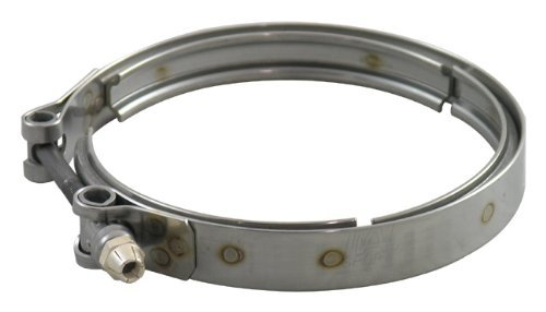 (TiAL V-Band Clamp for GT28/30/35 Exhaust Housing Discharge, 304 Stainless Steel )