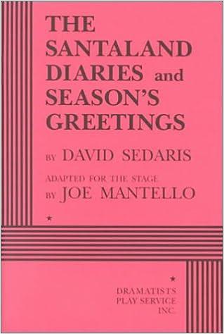 the santaland diaries seasons greetings 2 plays