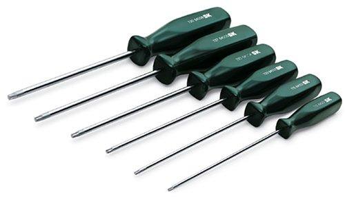 SK Hand Tools 86001 6-Piece SureGrip Torx Screwdriver Set-Made in USA!