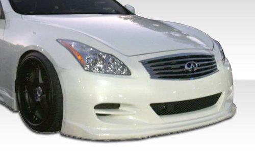 2008-2013 Infiniti G Coupe G37 Duraflex TS-1 Front Bumper Cover - 1 Piece (Ts1 Complete Body)