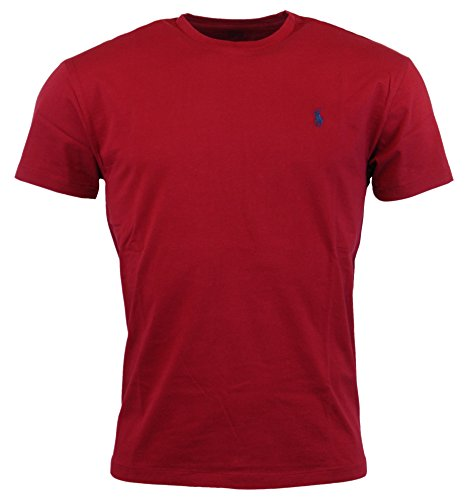 Polo Ralph Lauren Mens Classic Fit Solid Crewneck T-Shirt