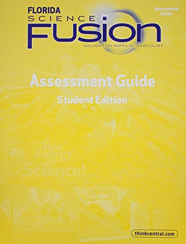 Houghton Mifflin Harcourt Science Fusion Florida: Assessment Books Grade 5