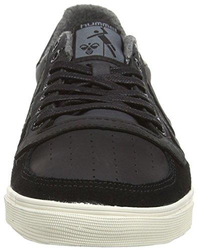 hummel SLIMMER STADIL OILED Unisex-Erwachsene Sneakers Schwarz (Black 2001)
