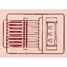 Allen Tel Products AT8X8RCSC-24 8C PLUG FOR 24GA RND CRD