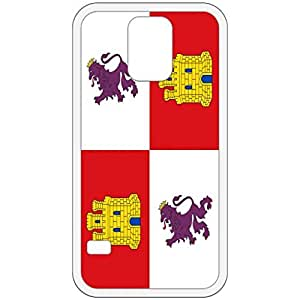 Castile And Leon Flag White Samsung Galaxy S5 Cell Phone Case - Cover