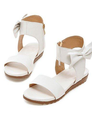 LFNLYX Zapatos de mujer-Tacón Plano-Zapatos y Bolsos a Juego / Comfort / Innovador / Puntiagudos / Botas a la Moda-Sandalias / Planos-Boda / Pink