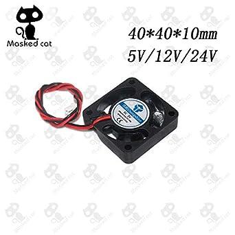 Amazon.com: DC 5 V/12 V/24 V refrigerador de CPU para ...