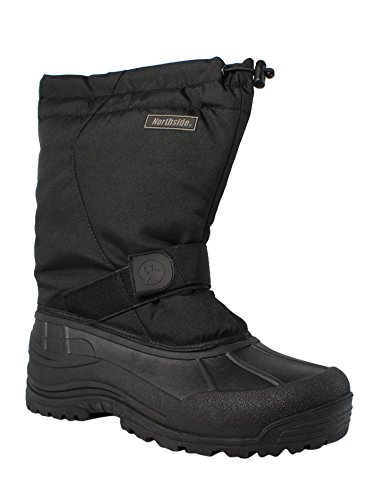 Northside Men's Alberta II  Cold Weather Boot,Black,12 M US