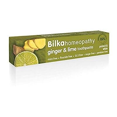 Bilka Natural Toothpaste Bilka Ginger and Lime 2,5oz