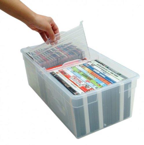 Media Storage Box - Set of 2