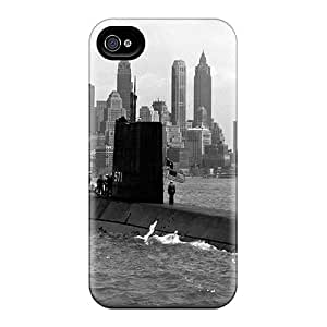 First-class Cases Covers For Iphone 6 Dual Protection Covers Vintage Photo Of The Nautilus Entering Nyc Harbor