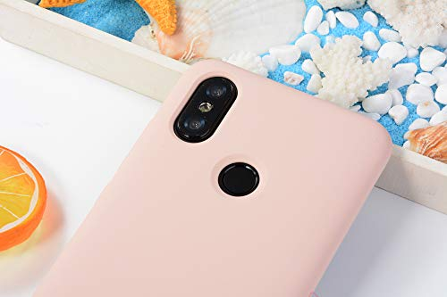 Shell Bumper Anti choc Tpu Coque A2 Protection Xiaomi Souple Etui Pourcover Rose Flexible Telephone Mince Anti Slim 6x Liquide scratch Silicone Ultra Mi Housse wazPqZwxO
