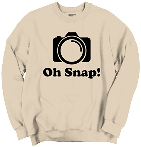 Oh Snap Funny Shirt Instagram Insta Photography IG Cool Gift - Sweatshirt Instagram