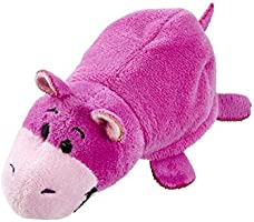 Flip A Zoo Giraffe//Hippo 2-in-1 Soft Toy