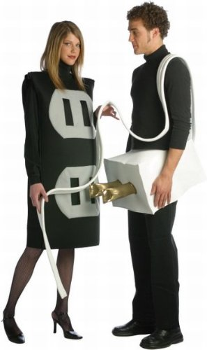 Plug and Socket Couples Costume