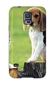 Fashion VDrSOJd8805MQNkh Case Cover For Galaxy S5(beagle Dog )