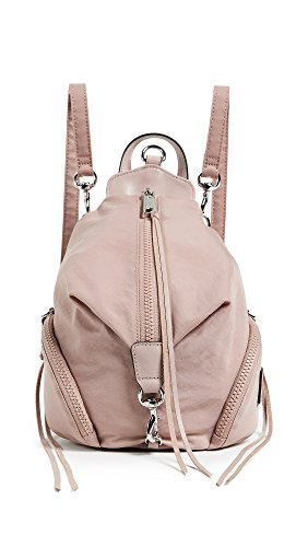 Rebecca Minkoff Women's Nylon Mini Julian Backpack, Vintage Pink, One Size by Rebecca Minkoff