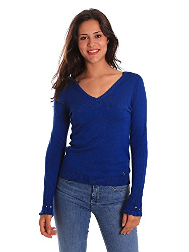 Gaudi Donna 811bd53015 Maglioncino Jeans Blu zqvrzwA