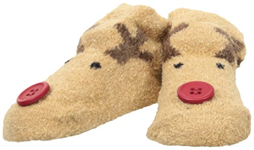 Mud Pie Baby Holiday Socks, Brown, 0-12 Months