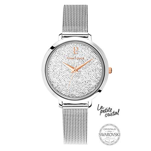 Pierre Lannier La Petite Swarovski Crystal Silver Ladies Watch