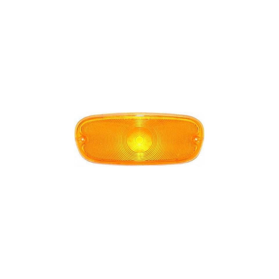 58 59 CHEVY CHEVROLET FULL SIZE PICKUP fullsize PARKING LIGHT (PASSENGER SIDE = DRIVER SIDE) TRUCK, 1 Amber Lens (1958 58 1959 59) C00106707