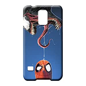 samsung galaxy s5 cover Eco-friendly Packaging New Snap-on case cover cell phone carrying covers spiderman and venom