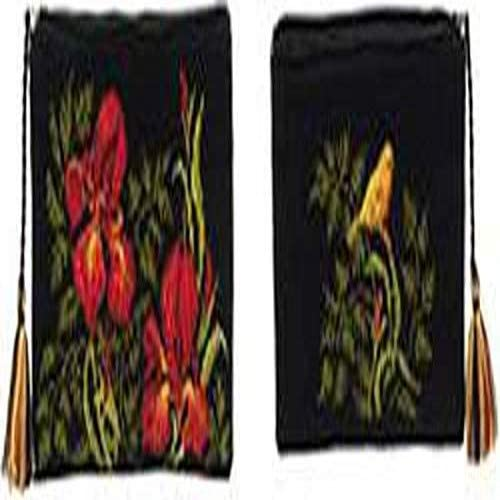 Multicolor 20/x 13/x 0.1/cm Riolis/ /Neceser Iris Cruz algod/ón
