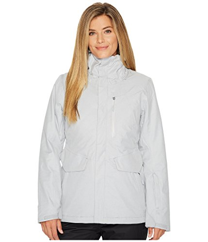 The North Face Women's Thermoball Triclimate Jacket, TNF Light Grey Heather, Medium