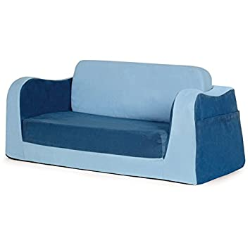 Pu0027kolino Little Reader Sofa, Blue