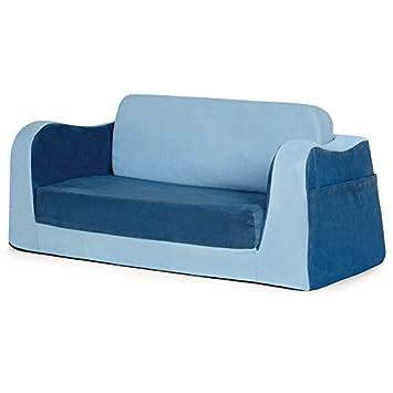 amazon com p kolino little reader sofa blue baby rh amazon com  p'kolino little reader sofa canada