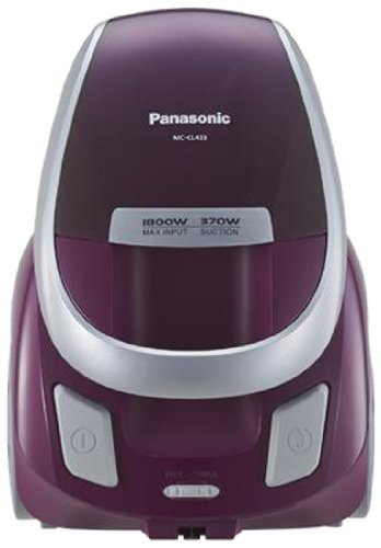 Panasonic MC-CL433 Cocolo Twin Cyclone System Bagless Vacuum, 220 to 240-volt, Non-USA Compliant - Corded