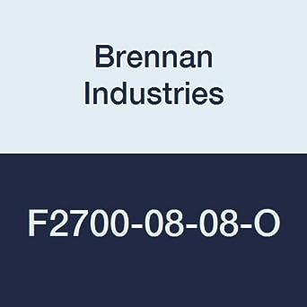 Brennan Industries F2700-24-24-O Steel Bulkhead Straight Flare-O Fitting 1-7//8-12 Male O-Ring Flare x 1-7//8-12 Male O-Ring Flare 1-7//8-12 Male O-Ring Flare x 1-7//8-12 Male O-Ring Flare Inc.