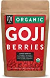 Organic Goji Berries - 16oz Resealable Bag - 100% Raw From Ningxia - by FGO