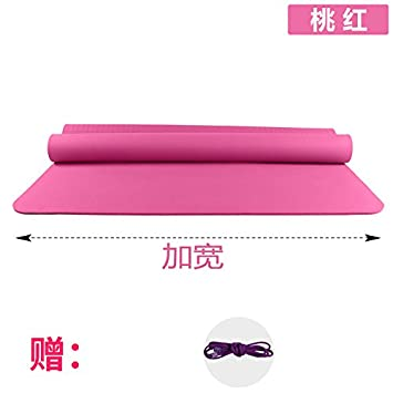 YOOMAT El Yoga Mat Doble Grande 80 Ancho 10 mm de Espesor ...