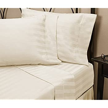 hotel luxury striped bed sheets setsale today only on amazontop quality