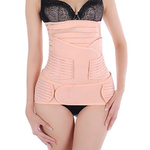 ZJchao Postpartum Support - Recover Belly/waist/pelvis Belt Sharper - 3 in 1 (XL) by ZJchao